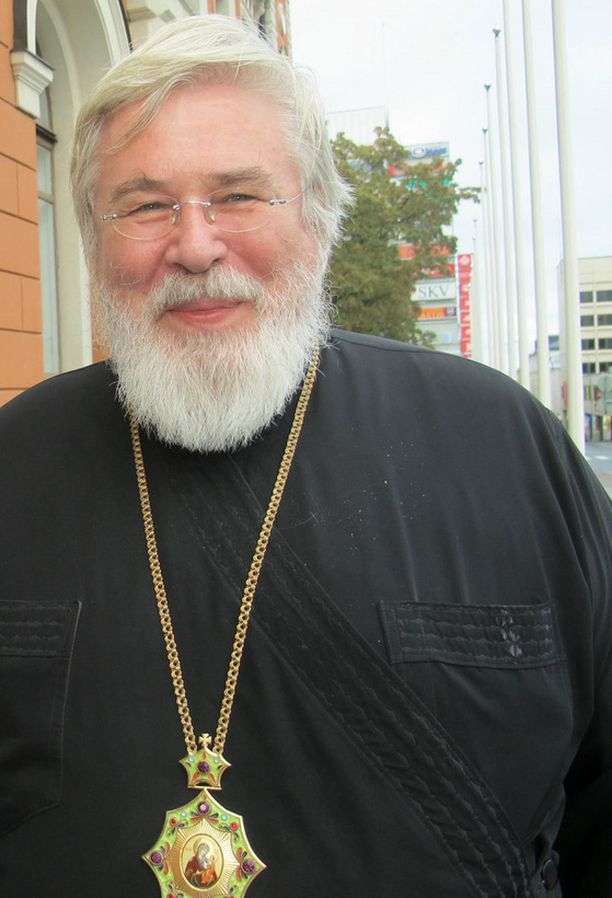 Arkkipiispa Leo joutui perjantaina kolariin.
