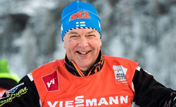 Reijo Jylhä asteli viikonloppuna avioon.