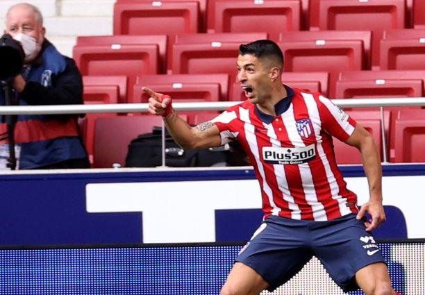Atléticon Luis Suárezin ruuti on ollut märkää Mestarien liigan vieraspeleissä.