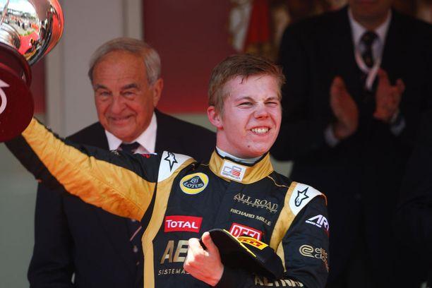 Vuonna 2012 Vainio napsi kaikkiaan neljän podium-sijaa GP3-sarjassa.