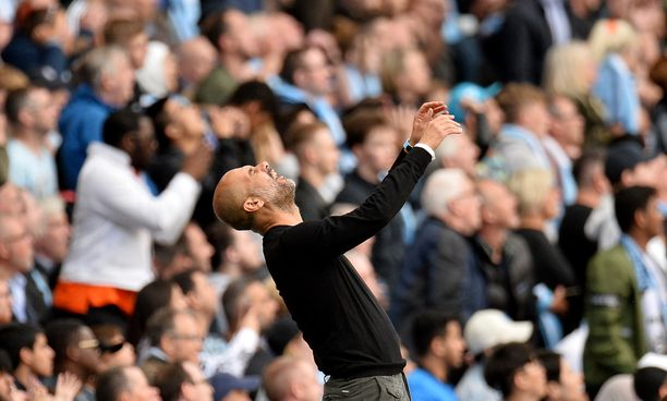 Pep Guardiolan reaktio Tottenhamia vastaan pelatun ottelun aikana kertoi paljon.