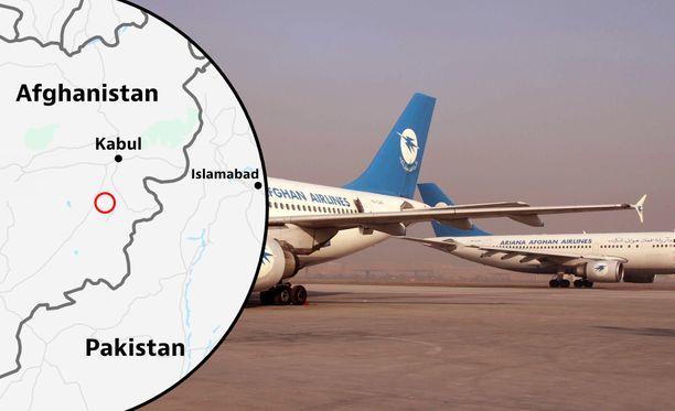 Ghaznin maakunta on Kabulista etelään.