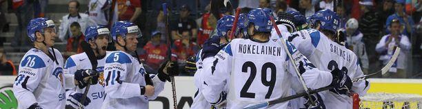 Se on siinä! Suomi menee finaaliin!