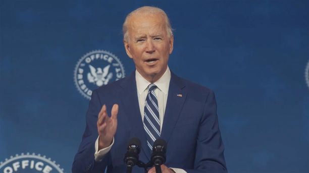 Joe Biden aloittaa virkakautensa tammikuun 20. päivänä.