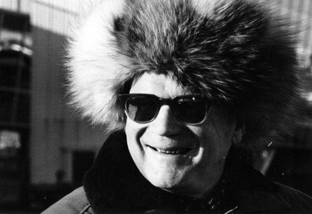 Presidentti Urho Kekkonen nautti elämästään keväthangilla.