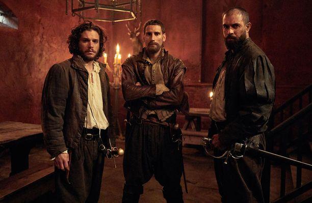Historiallinen Gunpowder kertoo tositarinan brittien viettämän Guy Fawkes -päivän taustalla.