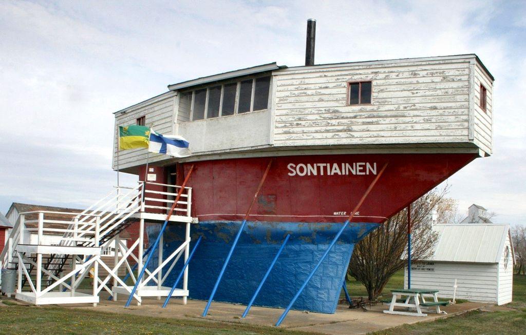Sontiainen siirrettiin Moose Jaw'n pikkukaupunkiin ja siitä tehtiin museo 60 vuotta sitten.