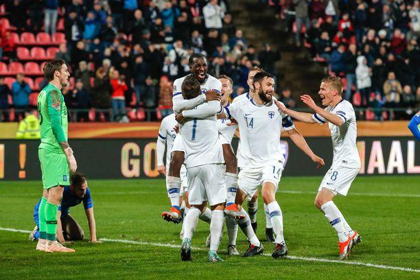 Suomi voi tänään varmistaa EM-kisapaikan voitolla Liechtensteinista.