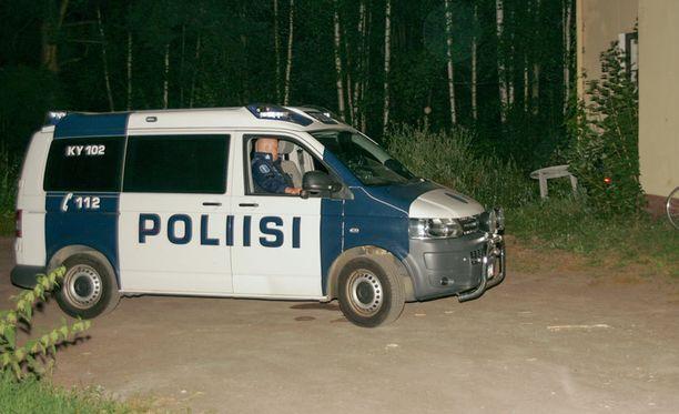 Kadonnutta etsittiin muun muassa Kotkassa Nuutinkadulta.