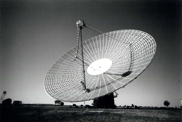 Parkesin observatorio sijaitsee Itä-Australiassa.