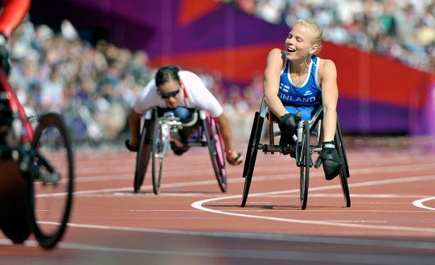 Kuva vuoden 2012 Lontoon paralympialaisista.