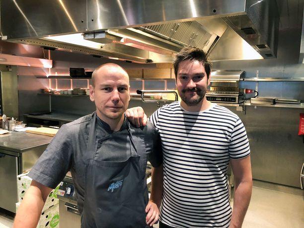 Tommi Tuomisen ja Henri Alénin tavoite on tehdä Ultimasta kestävän hedonismin ravintola.