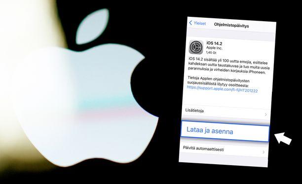 Iphone- ja Ipad-käyttäjien kannattaa ladata päivitys mahdollisimman pian.