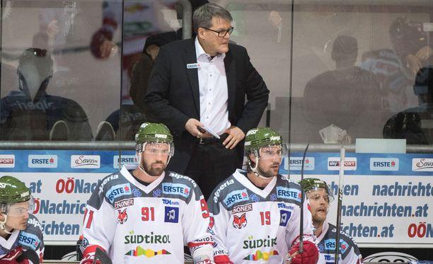 Kai Suikkanen siirtyi italialaisen HC Bolzanon päävalmentajaksi marraskuun lopulla.