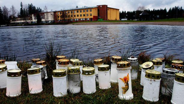 Jokelan koulusurmissa kuoli yhdeksän ihmistä vuonna 2007.