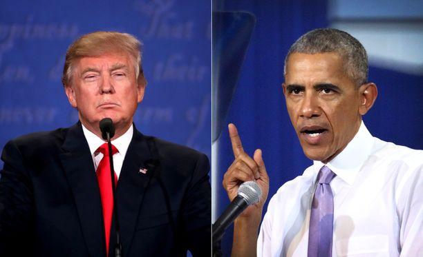 Donald Trump arvosteli Barack Obaman terveydenhoitouudistusta muun muassa siitä, että uudistus on nostanut terveydenhuollon kustannuksia.