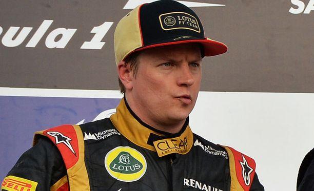 Kimi Räikkönen ei antanut allergian vaikuttaa sunnuntain ajoon.