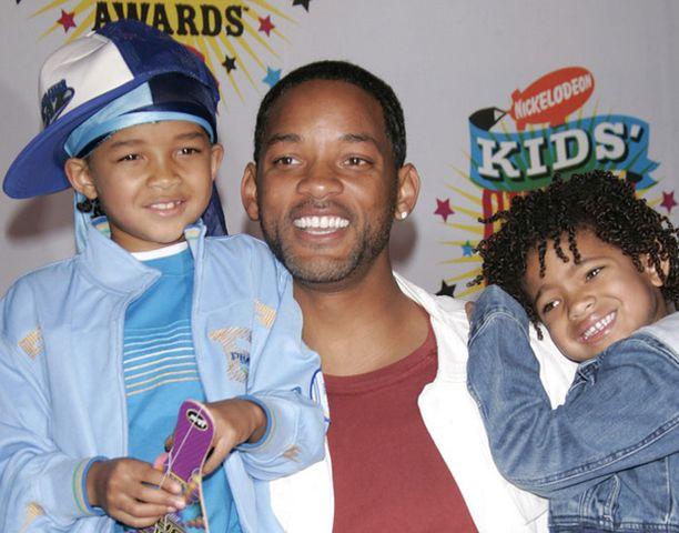 Will Smithin lapset Jaden (vas.) ja Willow ovat jo aloittaneet elokuvauransa.