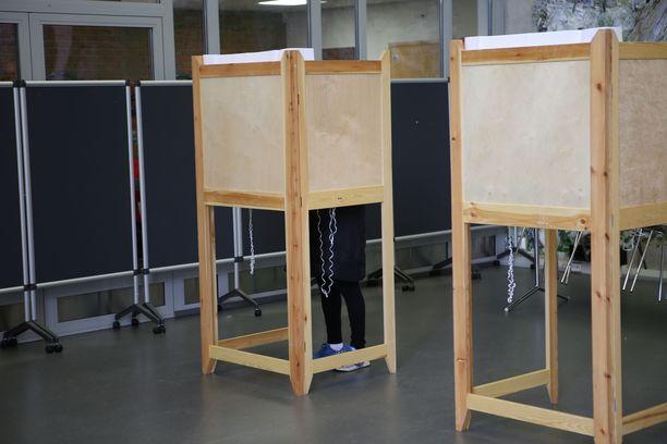 Kansa kävi ääniuurnilla ahkerasti näissä vaaleissa.