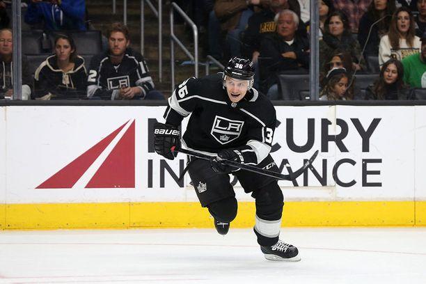 Jussi Jokinen treidattiin Oilersista Los Angeles Kingsiin.