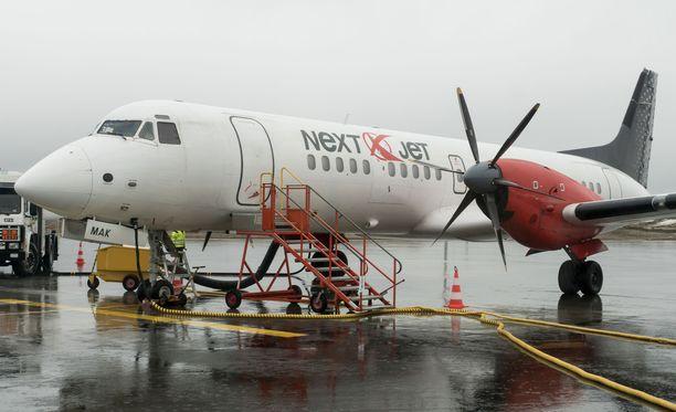 Nextjet-lentoyhtiöllä on lentotoimintaa myös Suomessa.