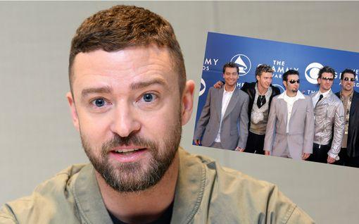 Justin Timberlakelta yllätyskommentti – väläyttää legendaarisen NSYNC-poikabändin mahdollista paluuta