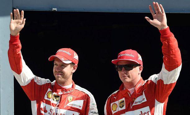 Kimi Räikkönen oli viileä ja toiveikas upean aika-ajon jälkeen.