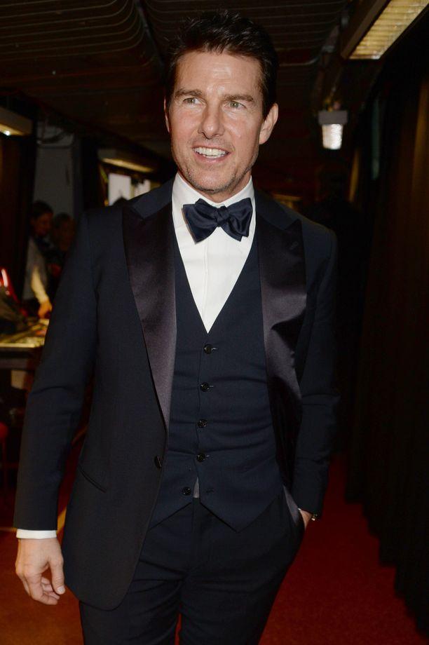 Tom Cruise ehti vain piipahtaa Italiassa, kun hänet jo lennätettiin pois tautiriskialueelta.