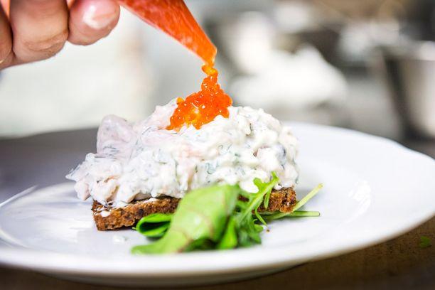Brahen Kellarin ruokalista on nykymittapuulla huikean pitkä.