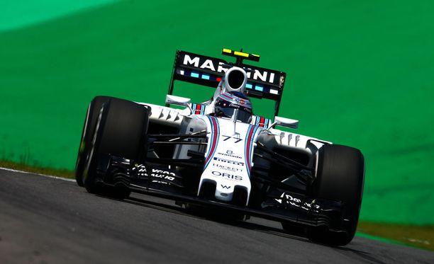 Valtteri Bottaksen Williams-ajokki muuttuu muun muassa etusiiven kohdalta.