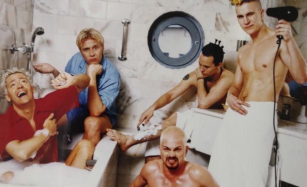 XL5-yhtye synnytti Suomessakin poikabändihysterian 90-luvulla.