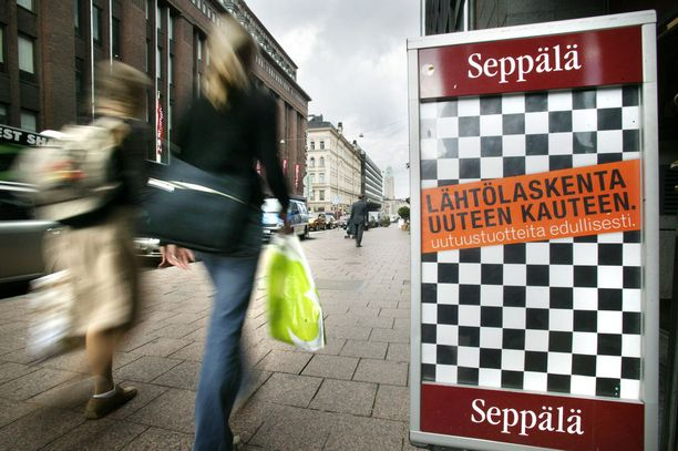 Seppälä sulkee 14 myymäläänsä ja aloittaa yt-neuvottelut.