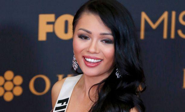 Shirly Karvinen edusti Suomea Miss Universumeissa.