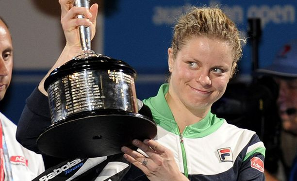 Kim Clijsters on Australian avointen mestari.