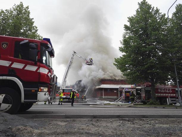 Tulipalo Jyväskylä