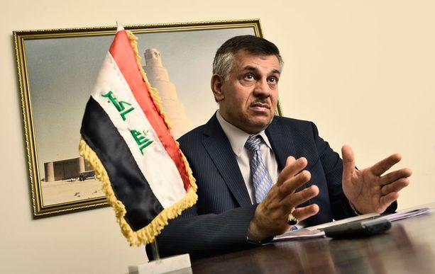 Irakin Suomen-suurlähettiläs Saad A. W. Jawad Kindeel uskoo, että ISIS pystytään vielä kukistamaan.