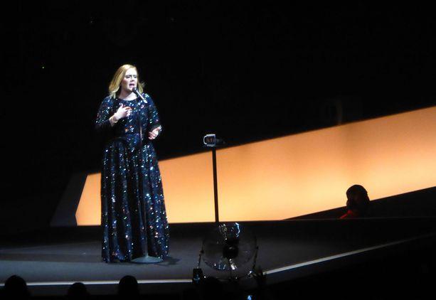 Tältä Adele näytti lapsen saamisen jälkeen vuonna 2016.