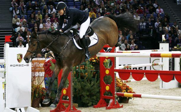 Helsinki International Horse Show keräsi lähes 50 000 katsojaa.