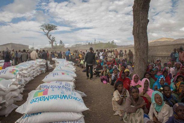 Etiopiassa ruokatilanne on katastrofaalinen, sillä maa on kärsinyt nyt kaksi vuotta kuivuudesta.