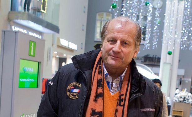 """Juhani """"Tami"""" Tamminen lähtee mukaan vahvistamaan TPS:n talouspuolta."""