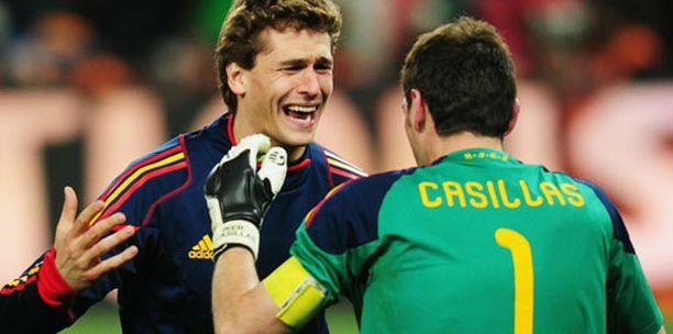 MM-finaali päättyi Espanjan riemuun.