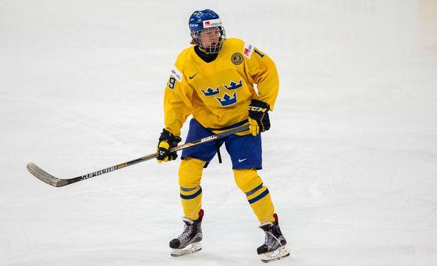 Alexander Nylander ja kumppanit kurittivat Tanskaa Ruotsin MM-avauksessa.