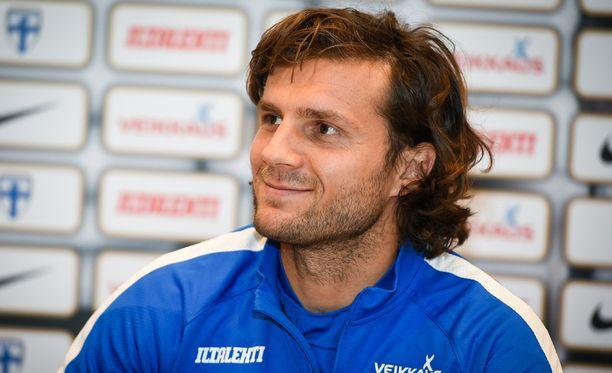 Perparim Hetemaj toivoo Napolin voittavan mestaruuden.