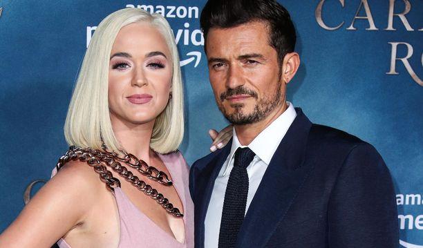 Katy Perryn ja Orlando Bloomin lapsen on määrä syntyä pian.