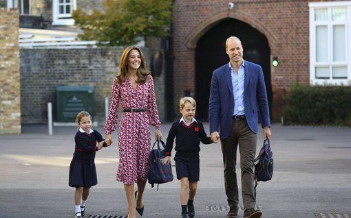 Pitääkö herttuatar Catherinen niiata pojalleen prinssi Georgelle, jos tästä tulee kuningas?