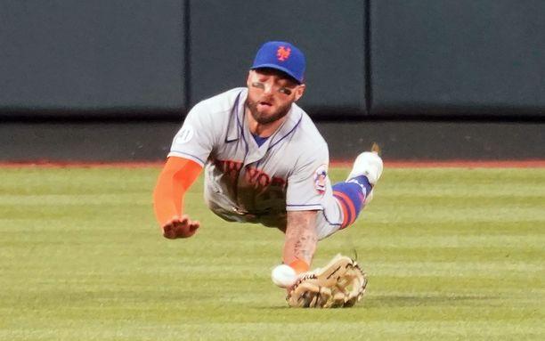 Kevin Pillar edustaa New York Metsiä.
