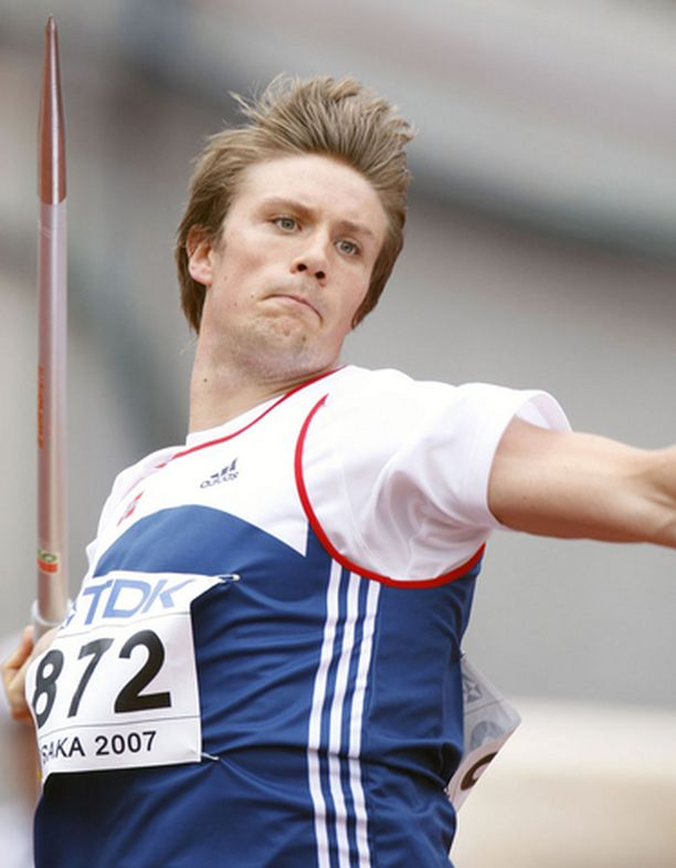Andreas Thorkildsen: 7:s, 82,33.