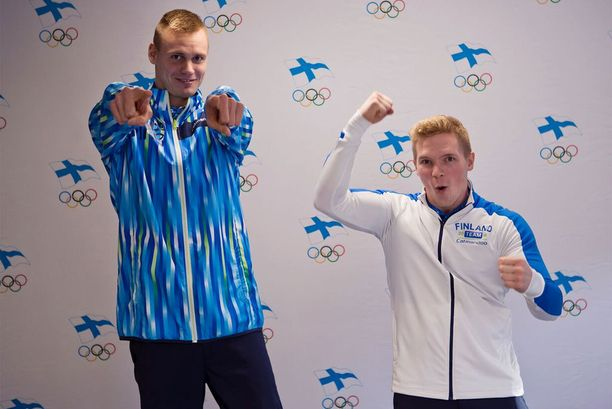 Ari-Pekka Liukkonen ja Tomi Tuuha