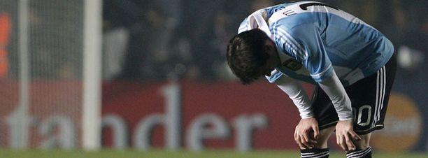 Lionel Messi ei ole saanut mitään aikaan Copa Americassa. Ei ole Argentiinakaan.