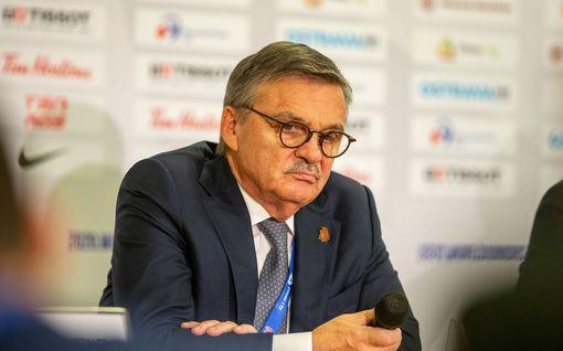 IIHF:n René Fasel myöntää karun tosiasian: MM-kisat joudutaan todennäköisesti perumaan